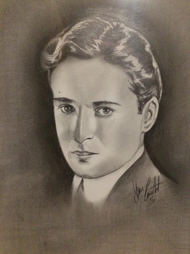 Charlie Chaplin by yvancourtet